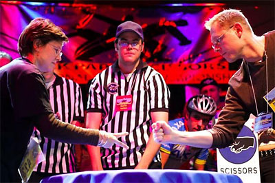 rock paper scissors tournament Welcome to the world-famous 'rock paper scissors' tournament take on the best as you use your wits to make ultimate decision: rock, paper, or scissors.