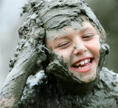 Kids shower time