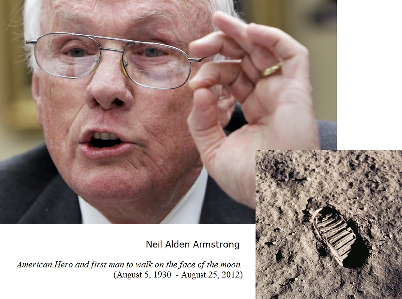Pics For > Neil Armstrong Death