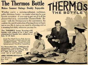 American Thermos Bottle Company ad circa 1909