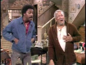 Fred Sanford Clutching His Chest