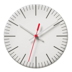 SplitTime_WallClockWhite_RedSecondHand