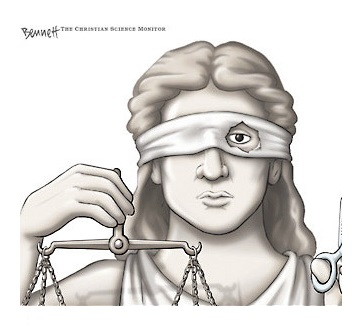 blind_justice by Bennett in Christian Science Monitor