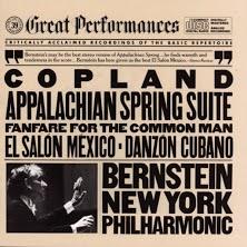 COPLAND Appalachian Spring Album Cover