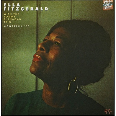 Ella Fitzgerald with the Tommy Flanagan Trio Montreus Jazz Festival Album Cover