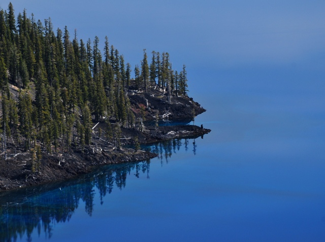 Crater Lake in Blue by Eric E Photography