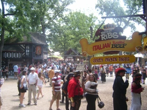 Bristol Renaissance Faire - food at the Faire  by dan4kent