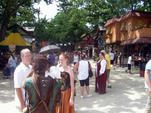 Bristol Renaissance Faire - friends and family at the Faire  by dan4kent
