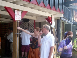 Bristol Renaissance Faire - Love cuts both ways at the Faire  by dan4kent