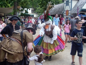 Bristol Renaissance Faire - Mother Goose  by dan4kent