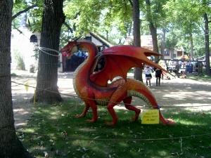 Bristol Renaissance Faire - Resident Dragon by dan4kent