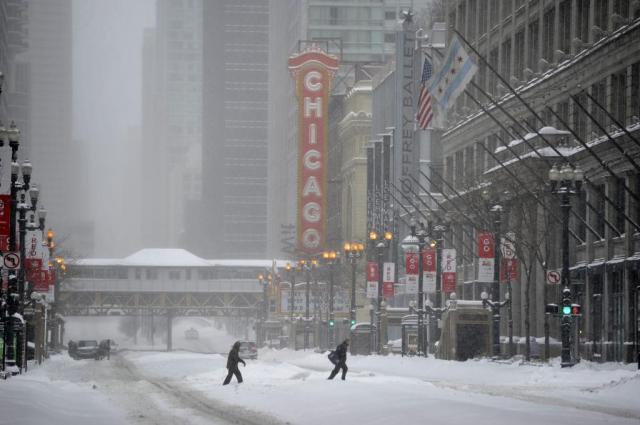 Chicago Snowstorm
