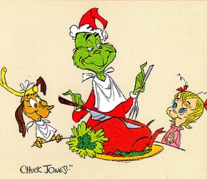 grinch and the roast beast feast by Chuck Jones