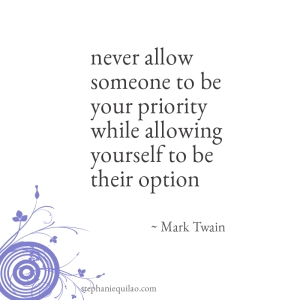 Mark Twain quote via stephanie quilao