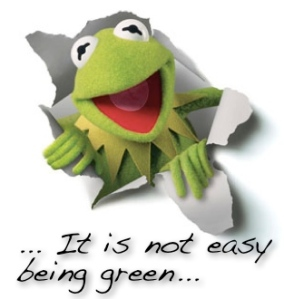 kermit not easy being green