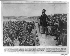 Lincoln at Gettysburg_Library of Congress