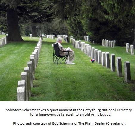 Salvatore at Gettysburg