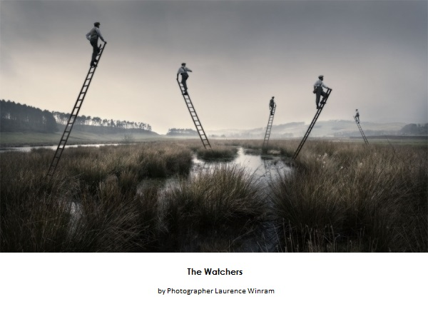 The Watchers by British Photographer Laurence Winram