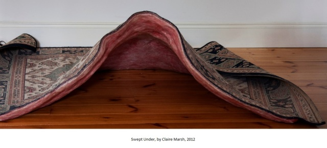 Swept Under, by Claire Marsh, 2012