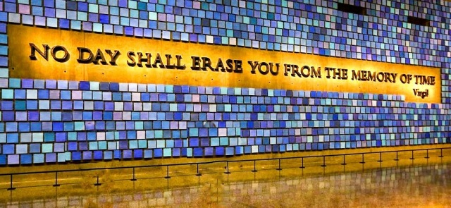 911 No Day Shall Erase You From The Memory of Time by Virgil