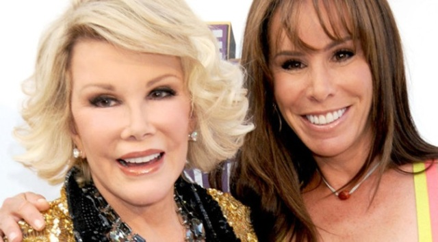 Joan and Melissa Rivers at joanrivers_com