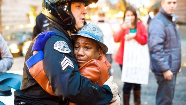 Needs a Hug in Portland