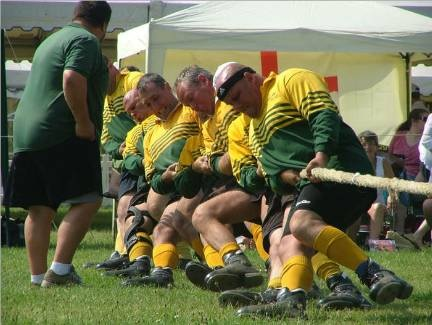 Rugby Tug of War