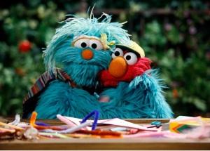 Muppets Hugging