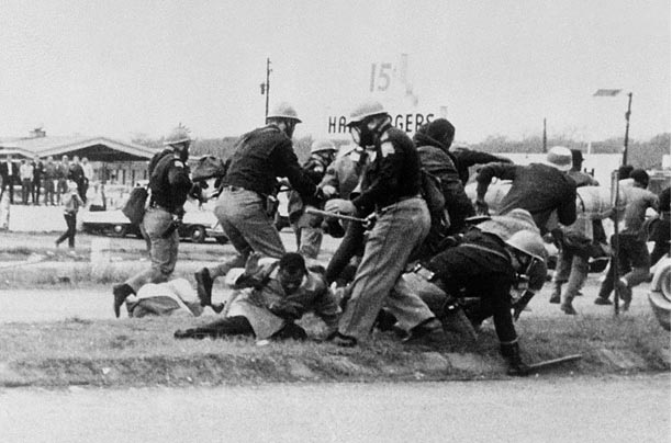 Selma Protesters and the Police