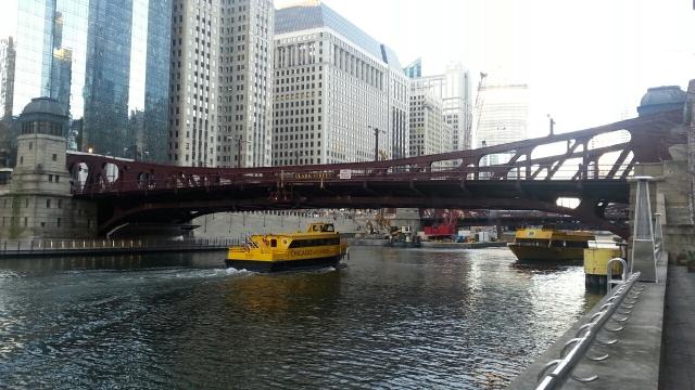 Clark Street Brige 2 Water Taxi