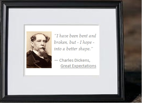 Bent and Broken into a Better Shape - Charles Dickens in Great Expectations