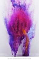 Purple Dust Explosion