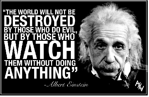 The World will not be destroyed - A Einstein