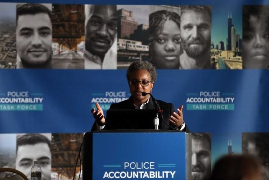 Chicago Police Accountability Press Conference Denver Post