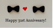 Happy 31st Anniversary