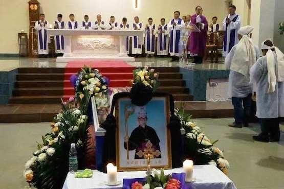 Bishop Zhang Huaixin Service