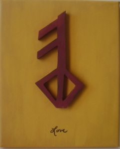 Viking Rune for Love