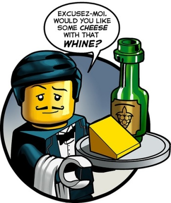 Cheese with your whine